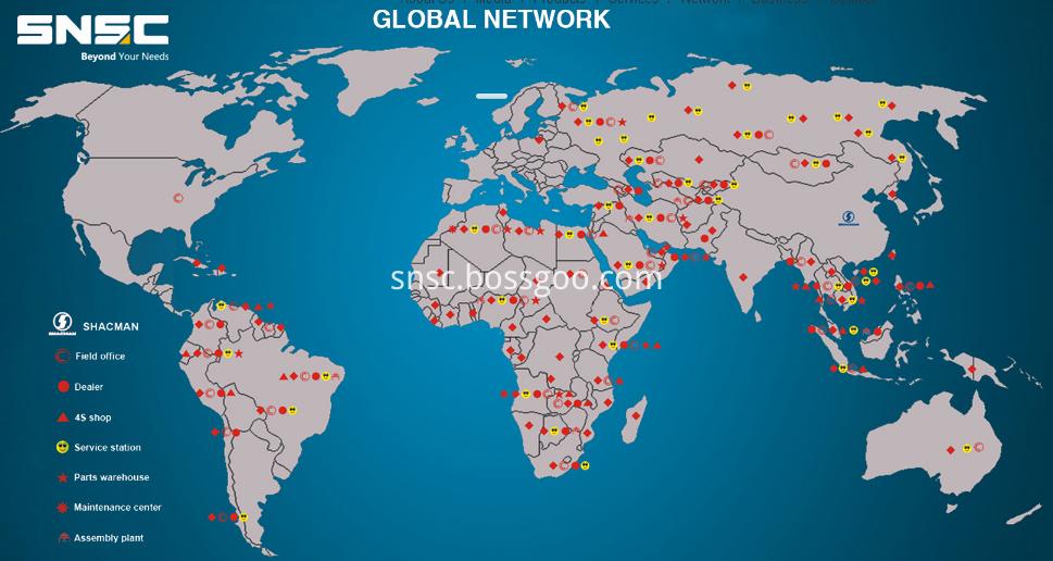 Truck Global network
