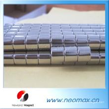 N48H Cylindre à aimant au néodyme
