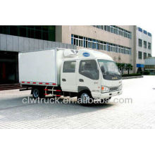 Hot Sale JAC Crew Cab Transport Refrigeration