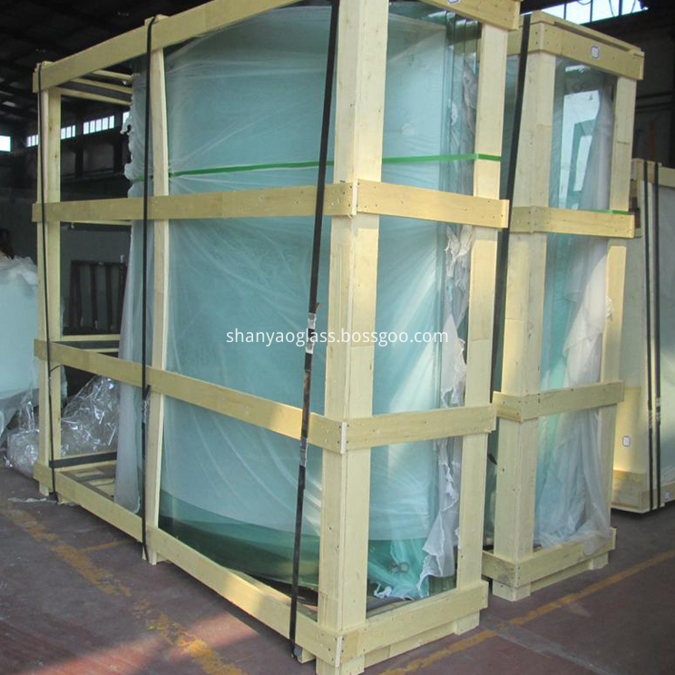 Bented Tempered Glass 1