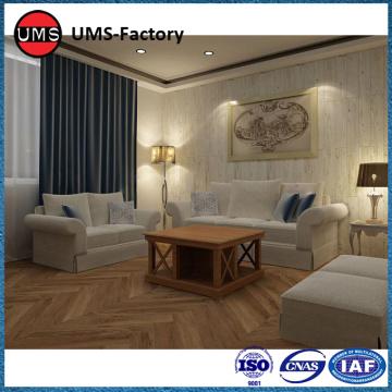 Satılık sahte ahşap kiremit oturma odası porselen