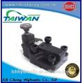 DT/DG-01 yuken type flange needle remote flow control solenoid relief pilot valve