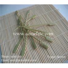 Brochette en bambou naturel à la vente chaude