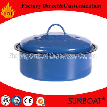 Enamel Kitchen Appliance Maceta / Utensilios de cocina / Enamel Steamer