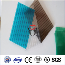 2-Wand billige Polycarbonat-Folie umgibt Polycarbonat-Hohlplatten