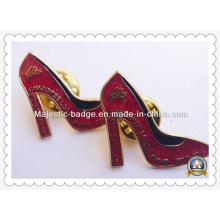 Plating Gold Soft Enamel Gliter Badge