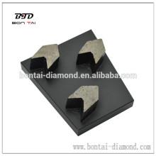 10 * 10 * 40 bloque de cuña y tapones de flecha serie para concreto muy suave, suave, medio, duro, muy duro