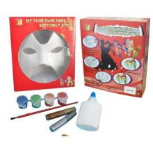 Máscara de pintura brincadeira Halloween DIY