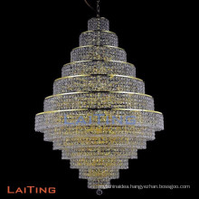 Modern Style Clear Big K9 Crystal Chandelier Lustre Light Porch Lamp Pendant