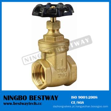 Válvula de bronze de 200 Wog com preço inferior (BW-G01)