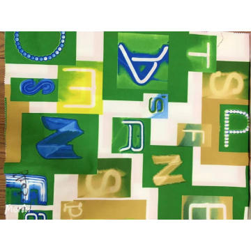 Fashion Geometric Cotton Poplin Print Fabric
