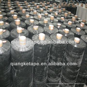 Cinta subterránea del material anticorrosión del tubo negro de Qiangke