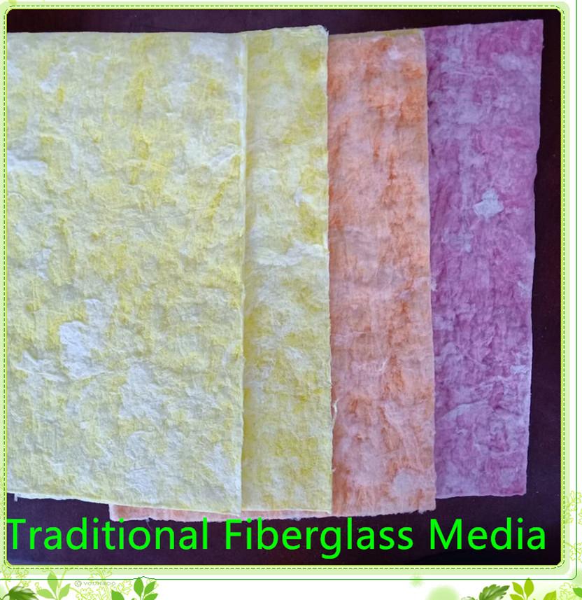 Traditional Fiberglass Media