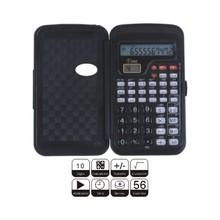 Función científica calculadora con reloj