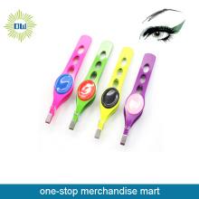 Colorful Best Stainless Steel Eyebrow Tweezers Set
