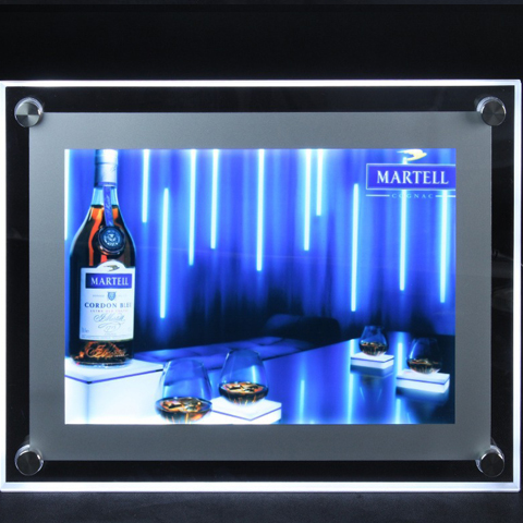 crystal light box