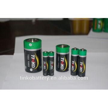 R03 PVC pilhas tamanho AAA, 2 ou cartão 4pcs/blister