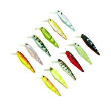 MNL061 95mm / 16.6g minnow plástico duro pesca señuelo minnow pesca de agua dulce señuelo