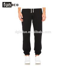 Coton hommes sport pantalon noir courir pantalon long pour les garçons Coton hommes sport pantalon noir courir pantalon long pour les garçons