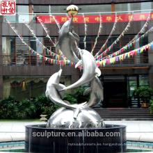 2016 Nueva escultura moderna hecha en la estatua urbana de China Caso exitoso