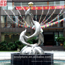 2016 New Modern Sculpture Made In China Urban Statue Successful case