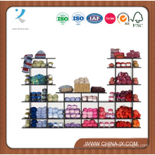 7′ Wide Floor Standing Wooden Display Shelf