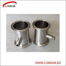 Sanitary Stainless Steel Pipe Fittings Tri Clamp Spool with Threaded Ferrule