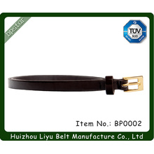 Painted Leather Belt/ Shiny Leather Belt/ Bright Color Leather Belt