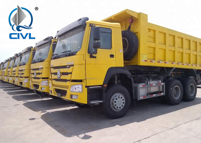 Sinotruk 6x4 Dump Truck Howo Tipper 18 03