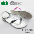 Ladies New Design Fashion Flat Summer Thong Sandals