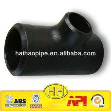 Tête latérale ASTM A234 WPB en acier au carbone à 45 degrés