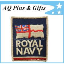 Remiendo del bordado para la marina de guerra real BRITÁNICA