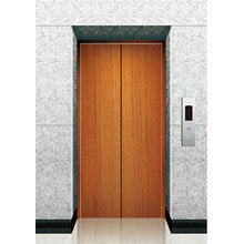 Elevator Wooden Finish Landing Door