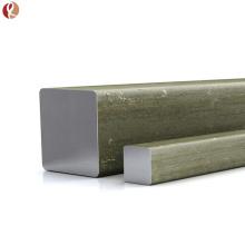 Haute qualité pure 99,95% bar carré de tungstène w1 prix