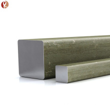 Alta qualidade pura 99,95% barra de tungstênio quadrado w1 preço