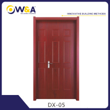 Eco-Friendly impermeable impermeable WPC puerta interior China fabricante