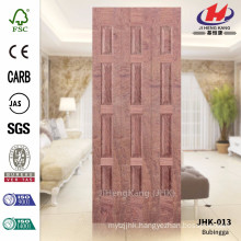 JHK-013 Project Unequal Leaf Door MDF CARB Bubinga Veneer Materail Sheet