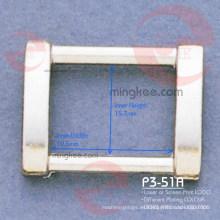 Hebilla de anillo rectangular para accesorios de partes de bolsa (P3-51A)