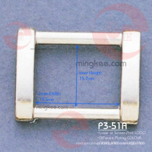 Rectangle Ring Buckle for Bag Parts Accessories (P3-51A)