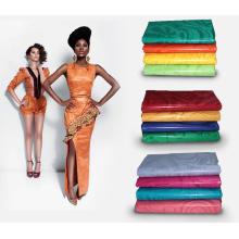 Tela africana de alta calidad de la ropa Bazin Riche Moda Guinea Brocade Abaya Textiles para el banquete de boda Feitex