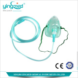 Diposable Oxygen mask with tube