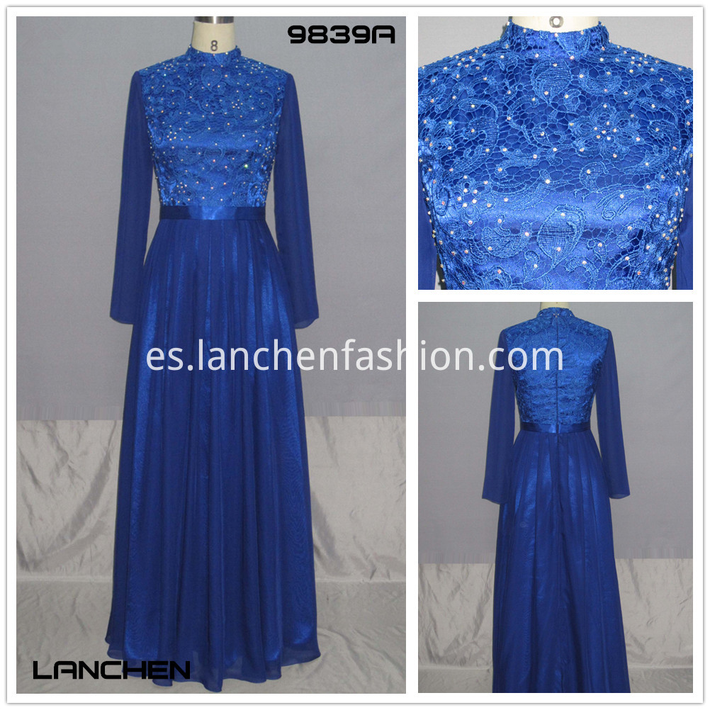 Dresses Chinese Style blue