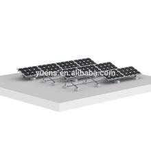 Bâti solaire de panneaux solaires de toit plat de système de bâti de triangle