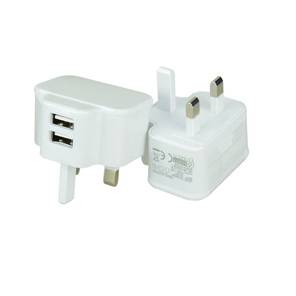 2 port usb phone charger