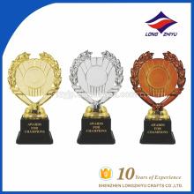 Hot Sale Trophée personnalisé à la galvanoplastie trophée trophée