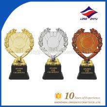 Troféu de trole troféu de galvanoplastia personalizado quente