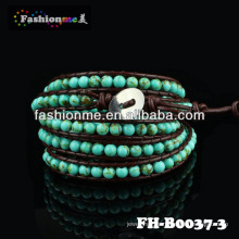 FASHIONME natural stone bead bracelet