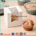 Wholesale Single Paper Cupcake PVC Box