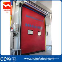 PVC auto recovery self adjusting door