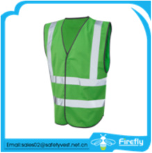 cheap high quality reflective green safety vest